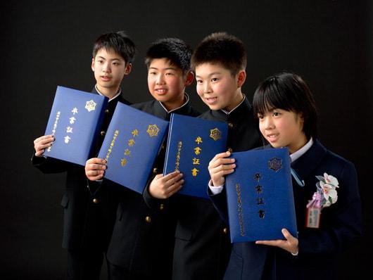 小学校の卒業写真